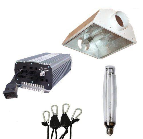 1000 Watt Dimmable 6 Air Cooled Hps Grow Light Package Read More At The Image Link Hps Grow Lights Grow Light Fixture Grow Light Bulbs