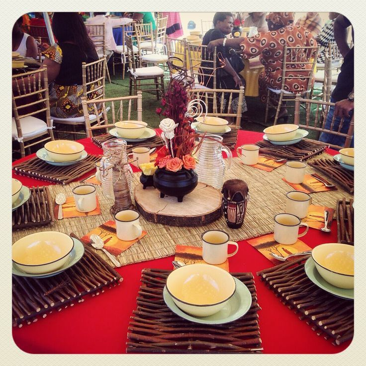 Related image african inspired table settings for Kitchen designs zambia