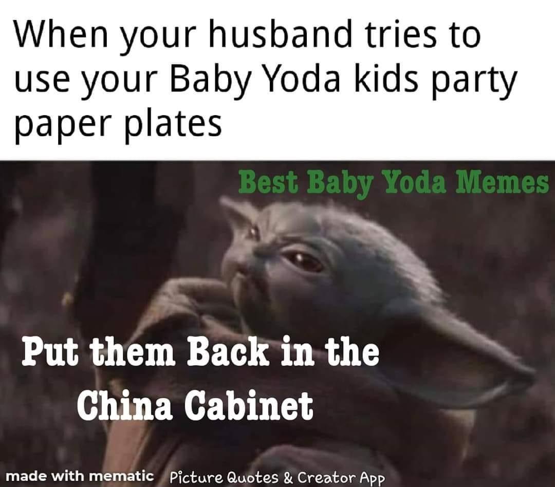 Baby Yoda Star Wars Jokes Yoda Meme Yoda