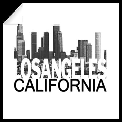 Los Angeles Skyline Wall Art Wall Decal