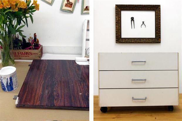 Cómo reciclar muebles de melamina, ¡apunta! - muebles diy