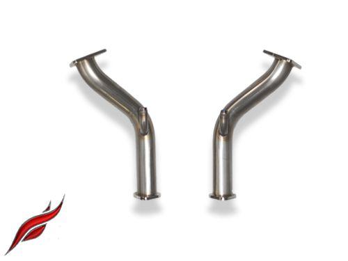Z1 Motorsports Non-Resonated Test Pipes 370Z / G37, Z1
