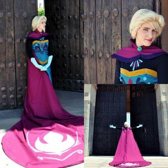 Elsa: coronation day.