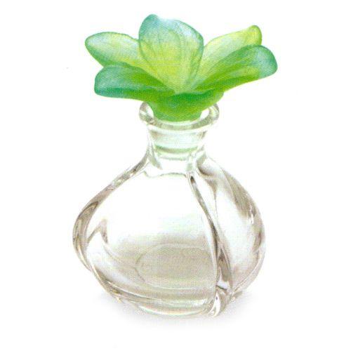 Amaryllis+Parfymeflaske,+Grønn,+Daum