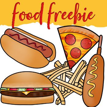 Food Clip Art Freebie #clipartfreebies