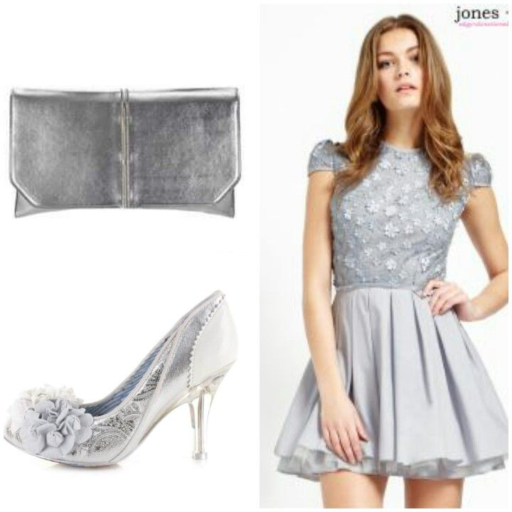 #jones&jones August wedding... The perfect outfit to match the overcast sky x