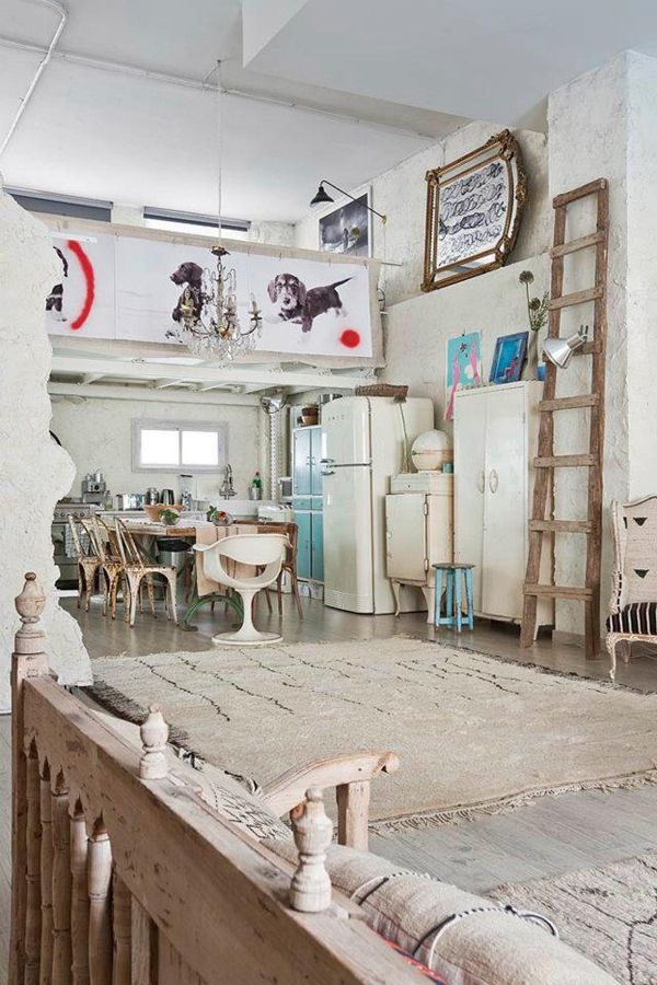 Studio Apartment Decorating Vintage bohemian loft apartment ideas bohemian loft apartments in madrid