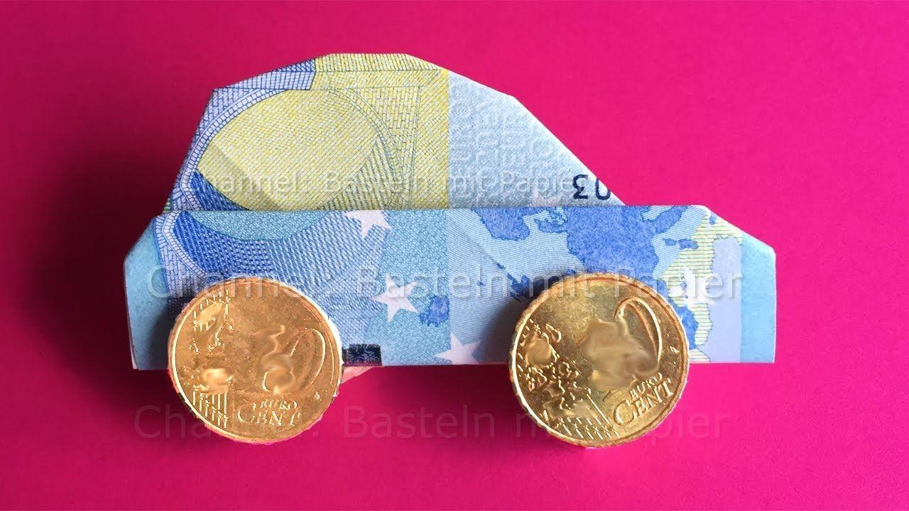 auto aus geld basteln