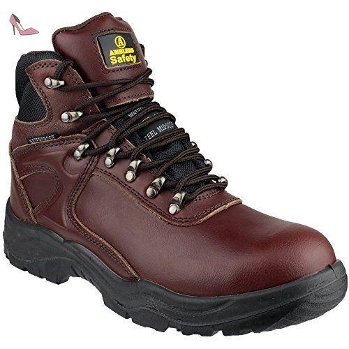 Amblers Safety FS62 Mens Leather S3 SRC W/P Safety Smart Shoes Black 13 gxswbfgIMt