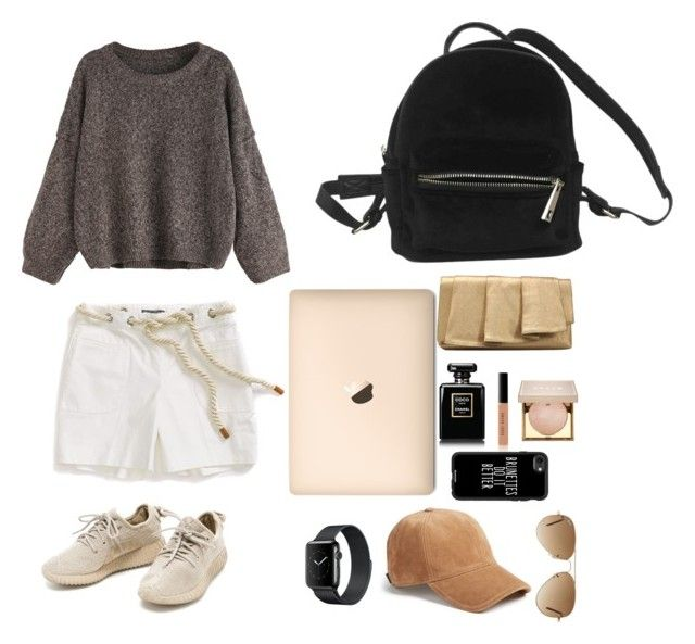 """""""Campus Style"""" by caramaze on Polyvore featuring Mode, Tommy Hilfiger, Urban Outfitters, La Regale, Bobbi Brown Cosmetics, Stila, Casetify, Ray-Ban und rag & bone"""