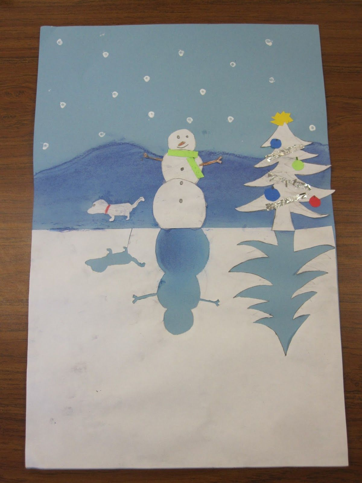 January Art Ideas For First Grade