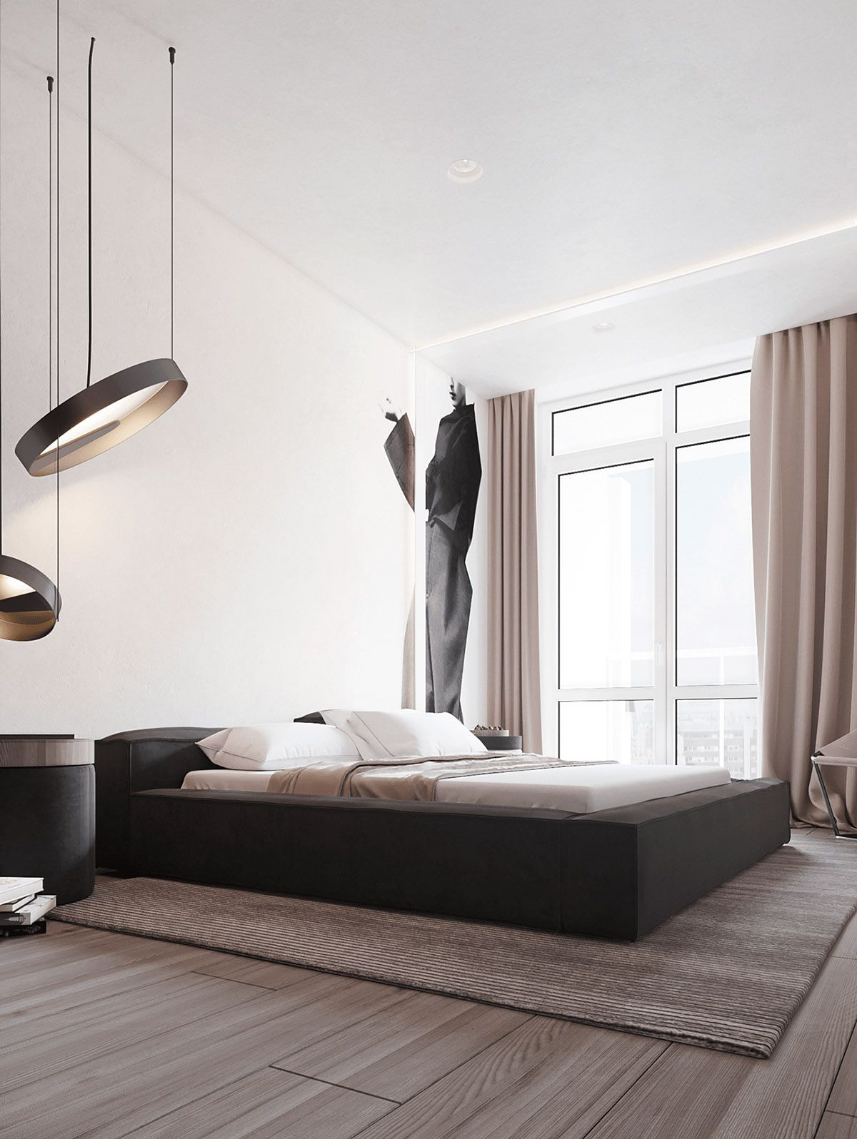 Black, White & Beige Apartment For The Fashionista images