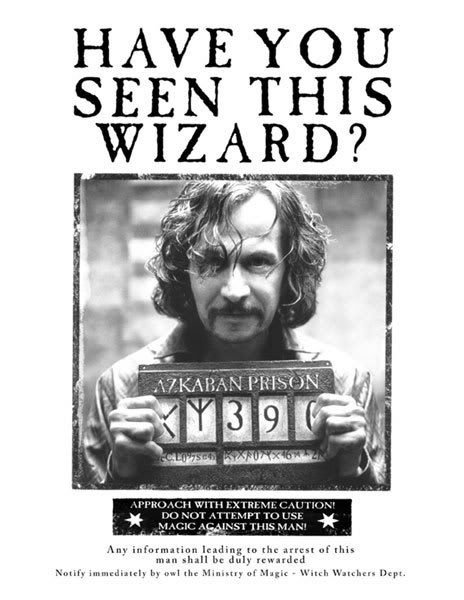 Gratifying image intended for harry potter wanted poster printable