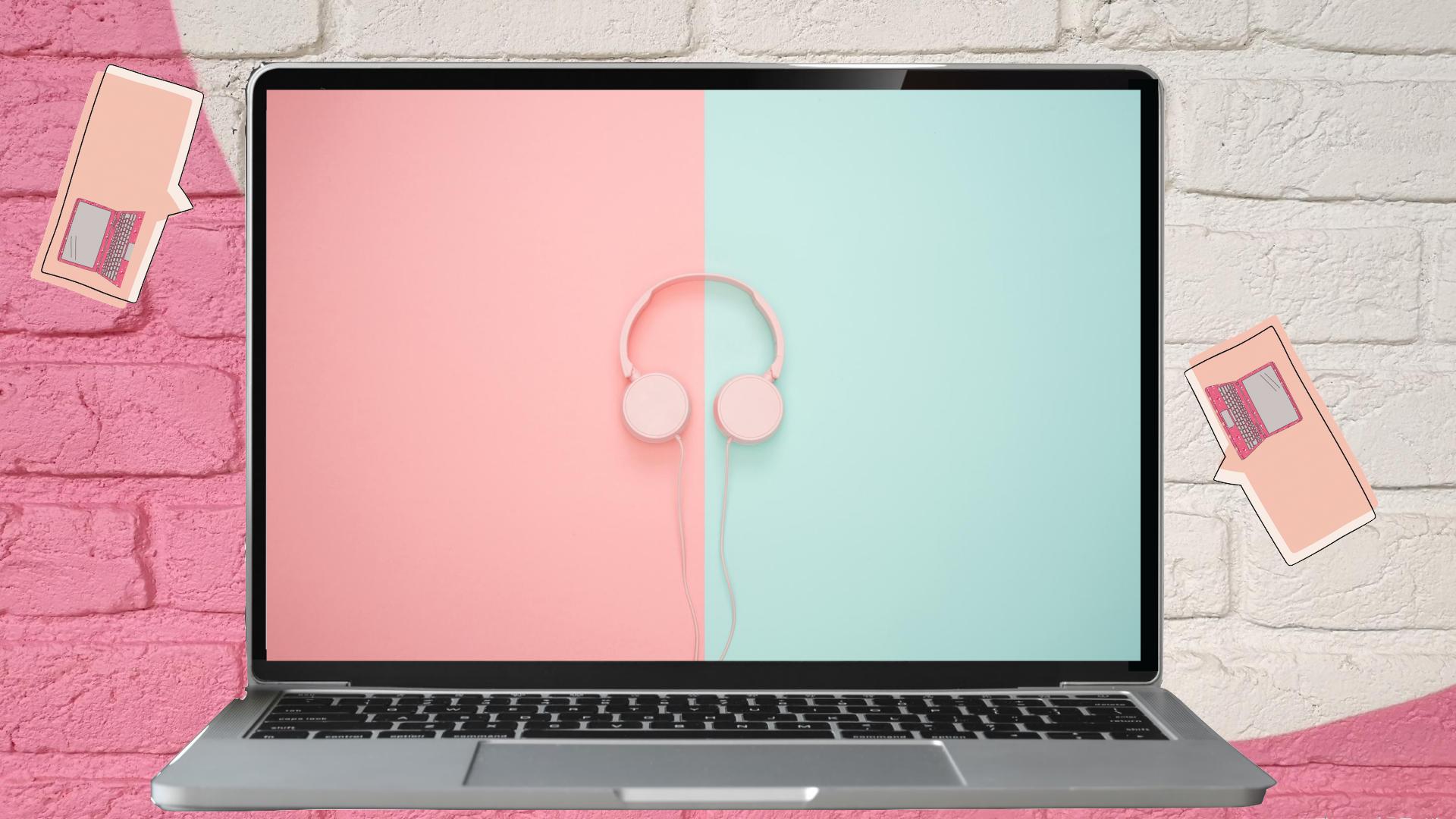 Macbook In Macbook Google Backgrounds Aesthetic Wallpapers Aesthetic Pictures