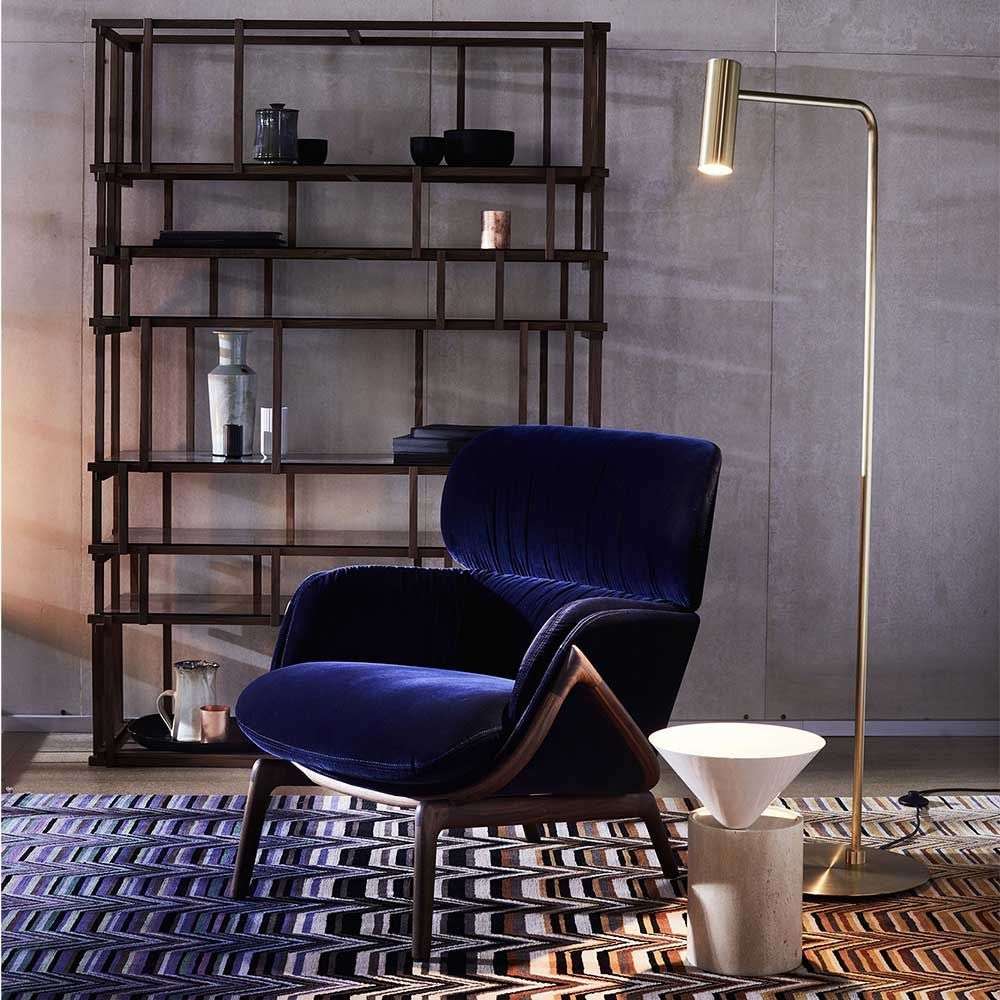 Swell Heron Brass Floor Lamp Cto Lighting At Spence Lyda Alphanode Cool Chair Designs And Ideas Alphanodeonline