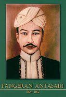 Gambar Foto Pahlawan Nasional Indonesia Pangeran Antasari