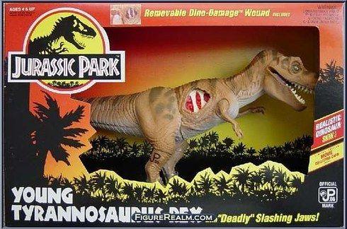 Jurassic Park 3 T-Rex Dinosaure 2000 Tyrannosaurus Rex JP 3 vintage
