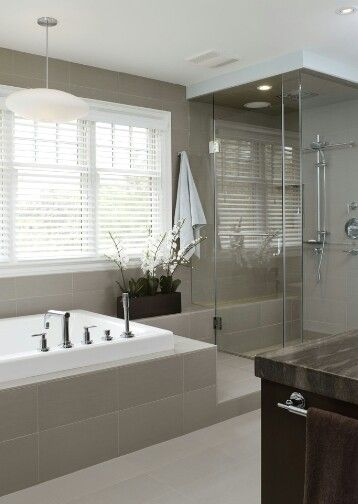 Love The Clean And Simple In A Bath Houzz Contemporary Bathrooms Bathroom Design Contemporary Bathroom Designs