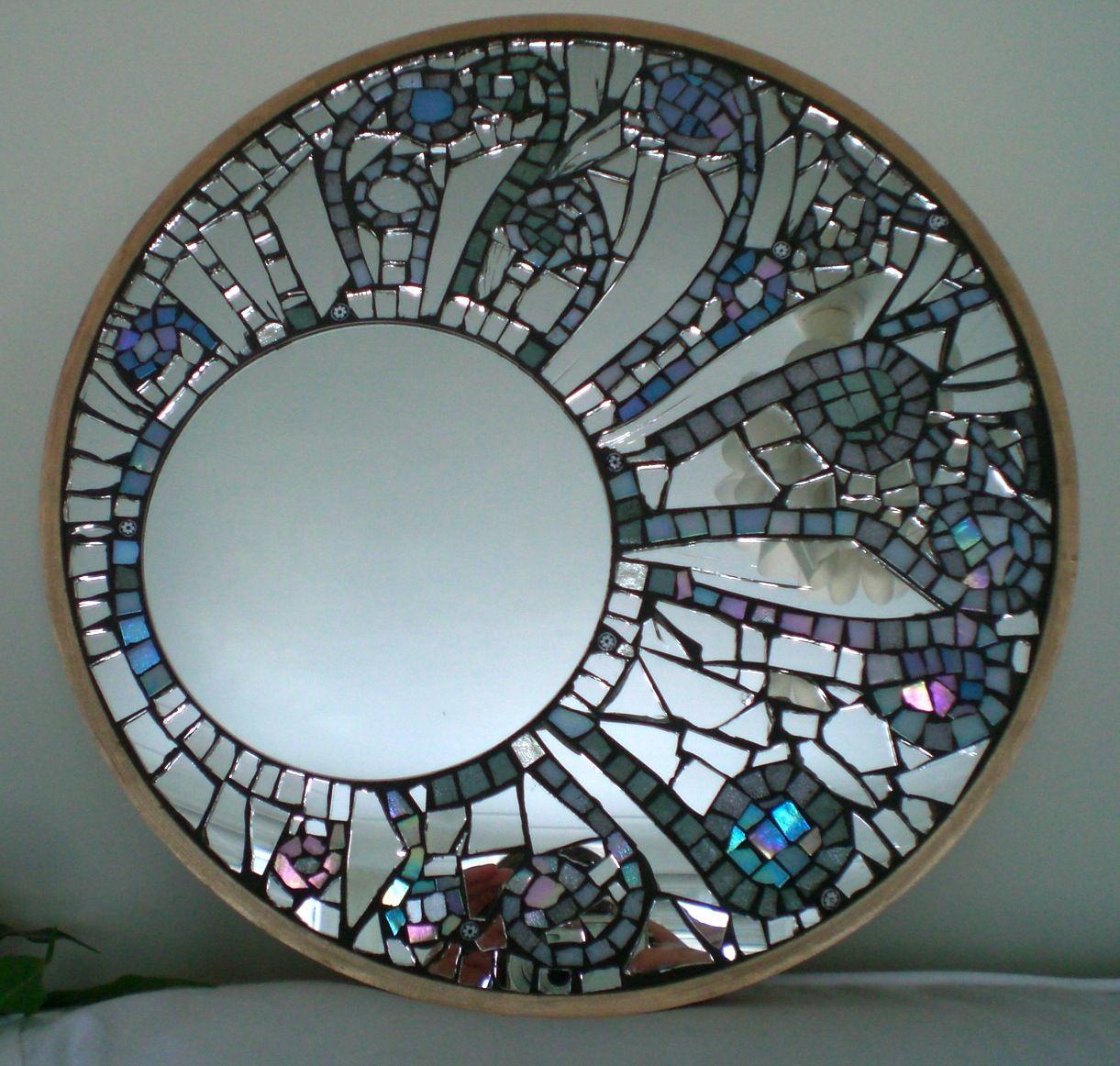 mirrormosaic from mirrors pinterest mosaique miroirs et miroir mosaique. Black Bedroom Furniture Sets. Home Design Ideas
