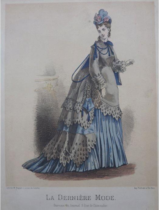 Stéphane Mallarmé (1842-1898), La dernière mode, 1874 | 1870s Ladies ...