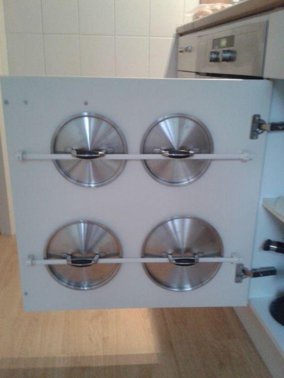 ordnung in der küche schaffen dekel praktisch platzsparend Küche - schubladen ordnungssystem küche