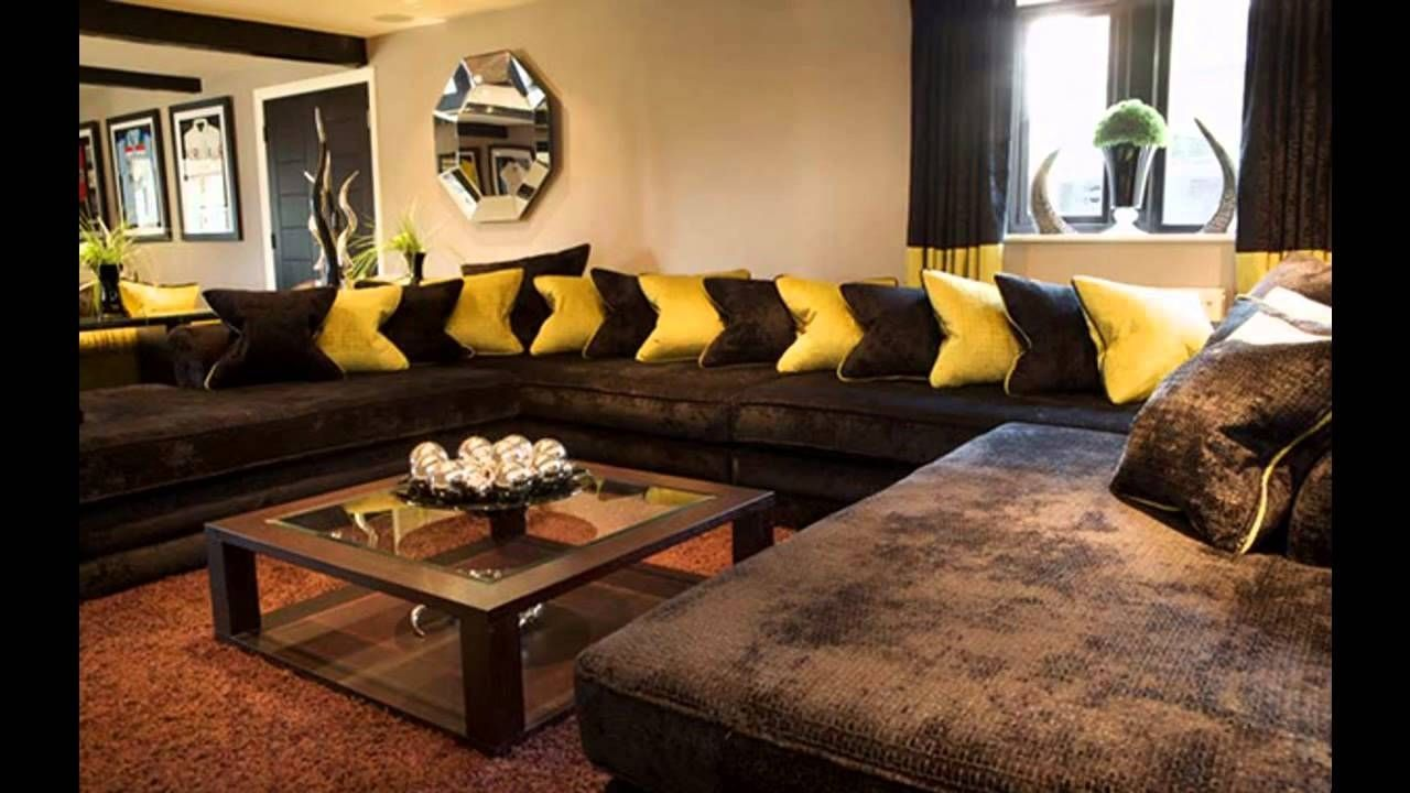 Elegant Image Of Living Room Colors With Brown Couch Ideas Brown Living Room Brown Sofa Living Room Brown Living Room Decor
