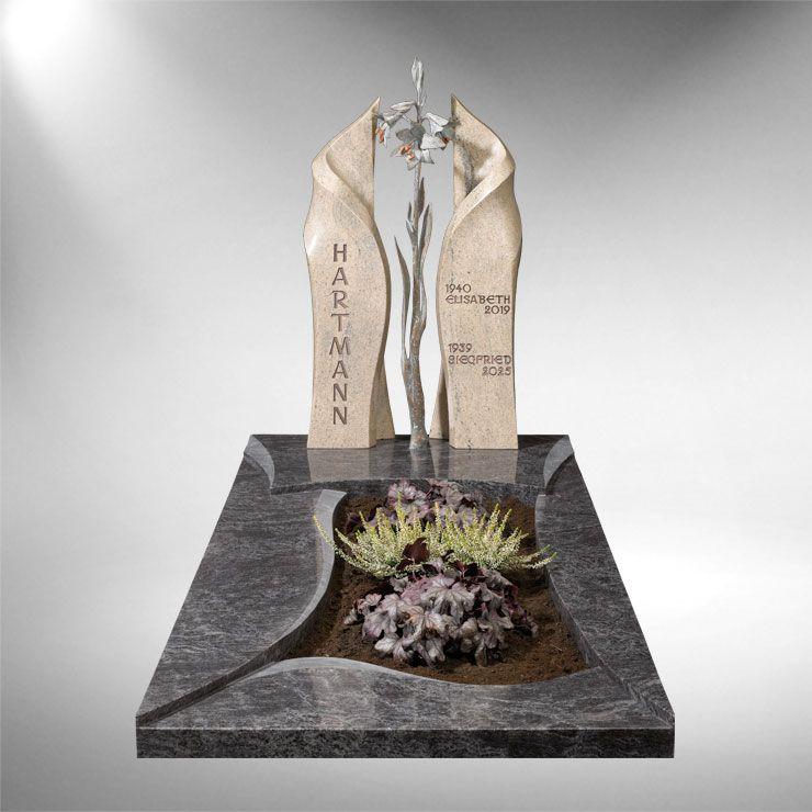 einzelgrabsteine modern fulda urnengr ber pinterest zuwendung grabgestaltung und grabstein. Black Bedroom Furniture Sets. Home Design Ideas