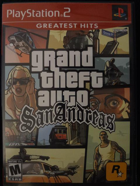 Grand Theft Auto San Andreas Grand Theft Auto San Reas Game