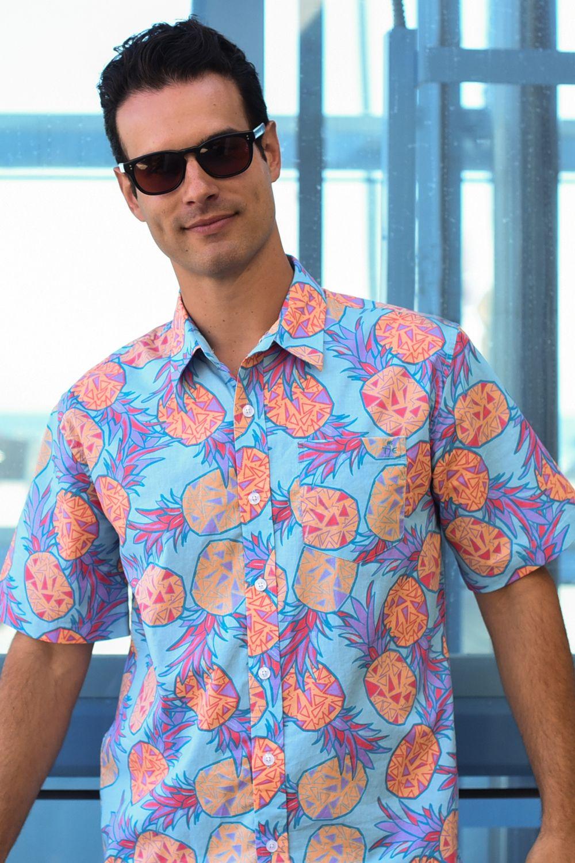 974c8e2f The Pina Colada Hawaiian Shirt | Dude Fashion | Pinterest | Mens ...