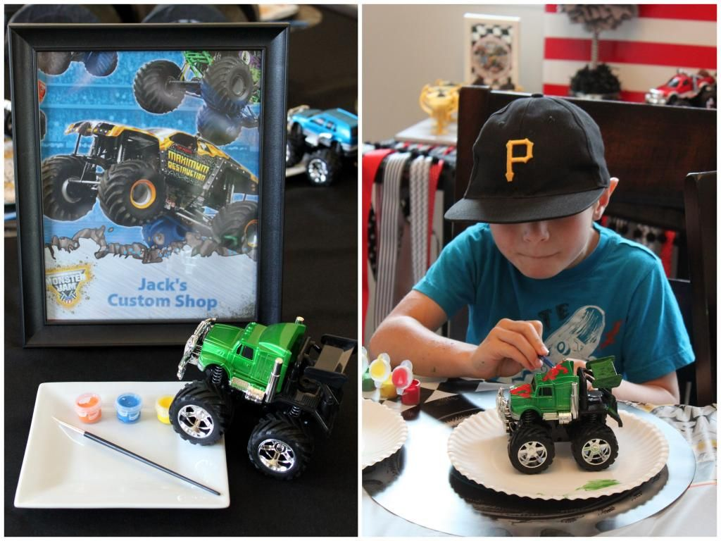 Monster Truck Party and Giveaway!