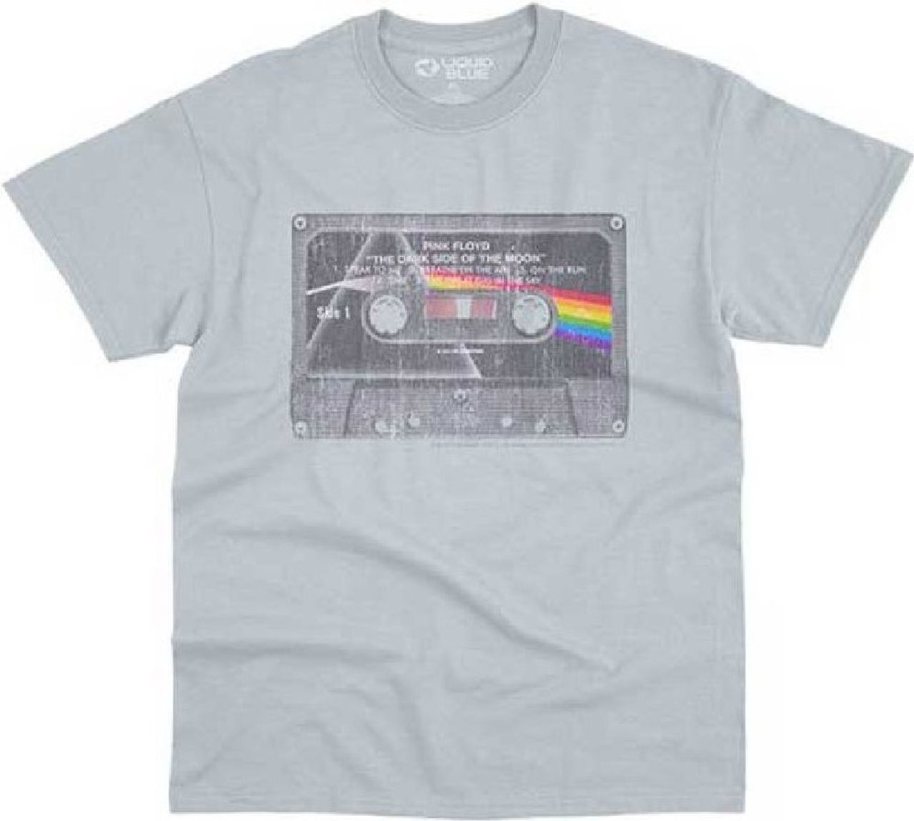 Pink Floyd Dark Side of the Moon Prism Album Cover Men/'s T Shirt Rock Band Merch