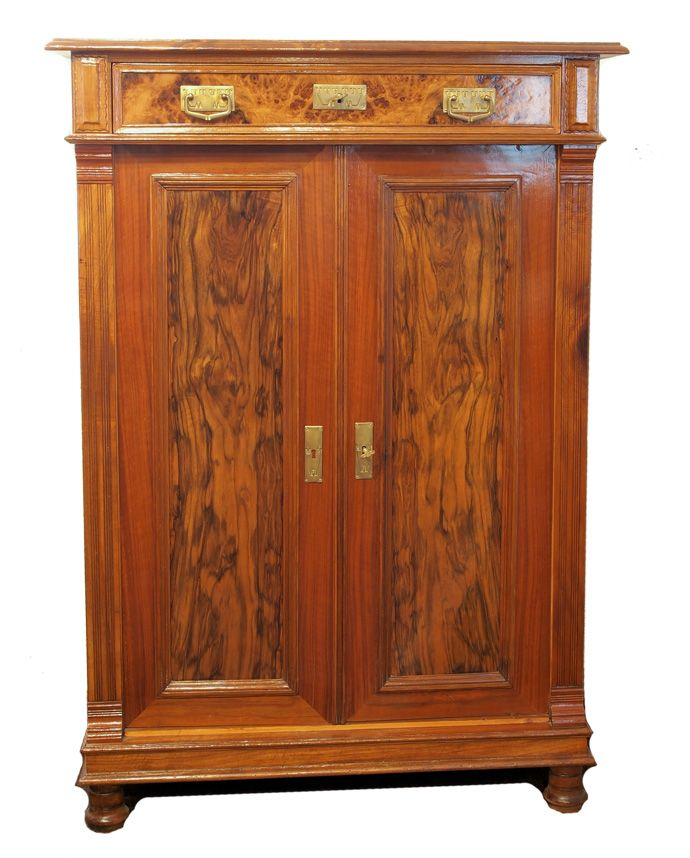 verkauft vertiko nussbaum jugendstil antiquit ten haus heymann gmbh jugendstil. Black Bedroom Furniture Sets. Home Design Ideas
