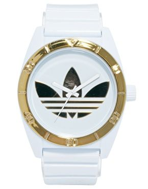 Image 1 of Adidas Santiago White Dial Watch Sieraden