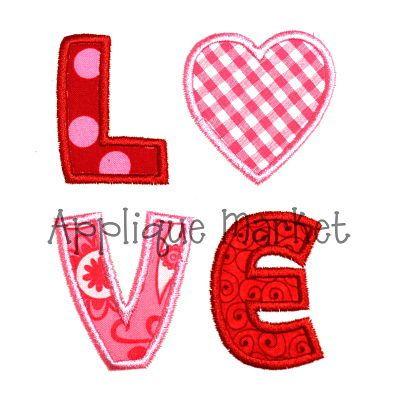 embroidery design valentine