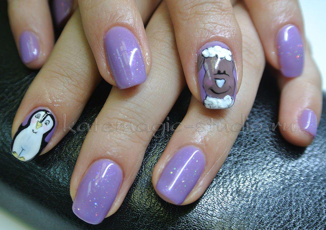 фото маникюр рисунки на ногтях гель лаком