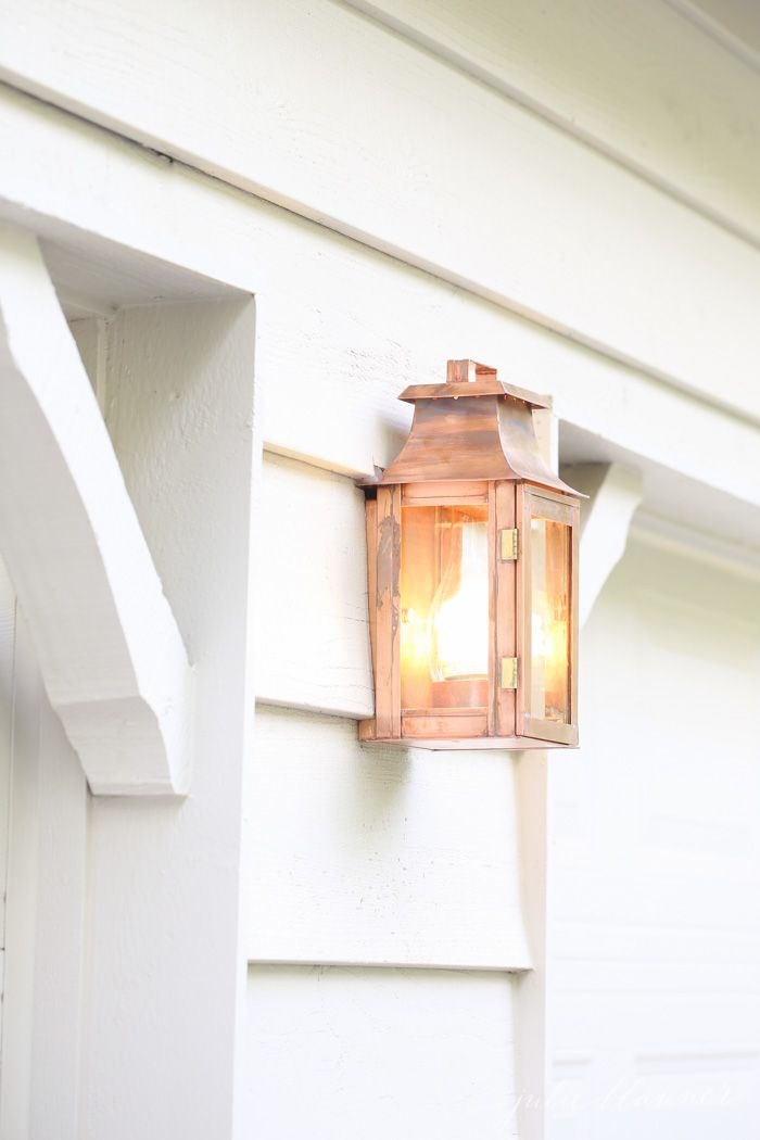 Outdoor Lighting and Decorating Ideas | Garage design, House front on 1920s factory sconce lighting, ikea sconce lighting, stairway sconce lighting, oil rubbed wall sconce lighting, vanity sconce lighting, country low profile wall sconce lighting, bathroom sconce lighting,