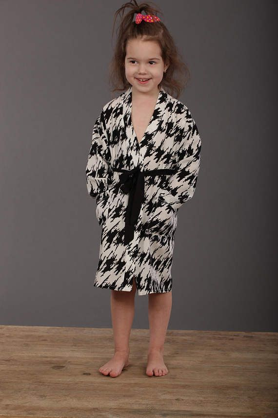 Kids Dressing Gown Kids Robe Cotton Robe Cotton Dressing Gown