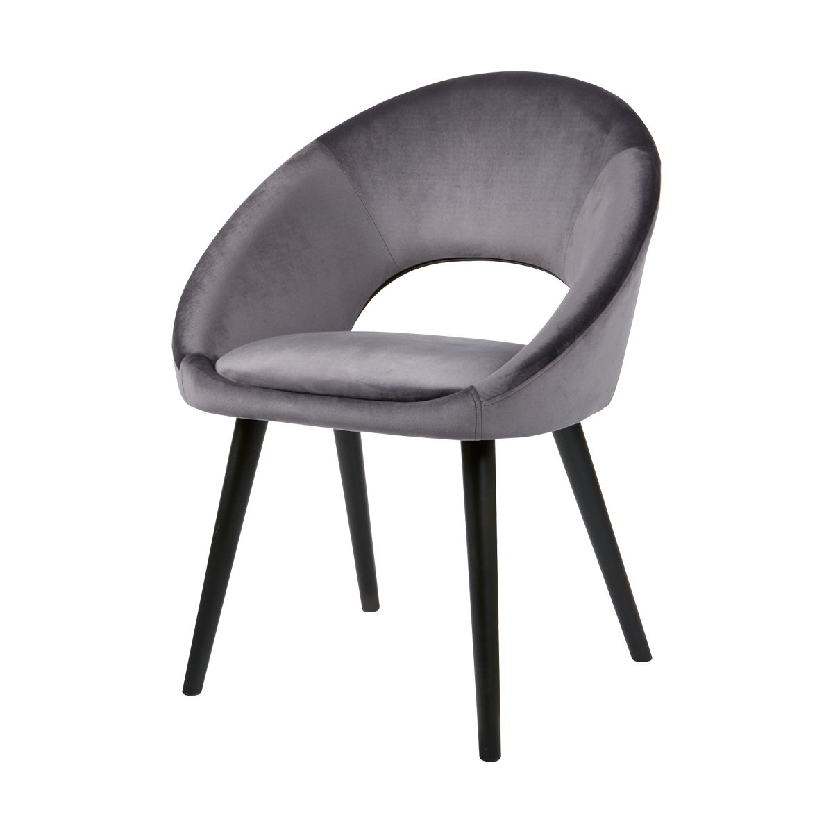 Grey Velvet Occasional Chair Kmart 49 Occasional Chairs