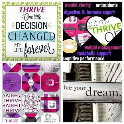 Thrive has completely changed my life!! I have energy that I haven't had in years!!! Thank you THRIVE!! www.Lauren1826.Le-VeL.com