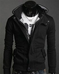 Jaqueta masculina com capuz