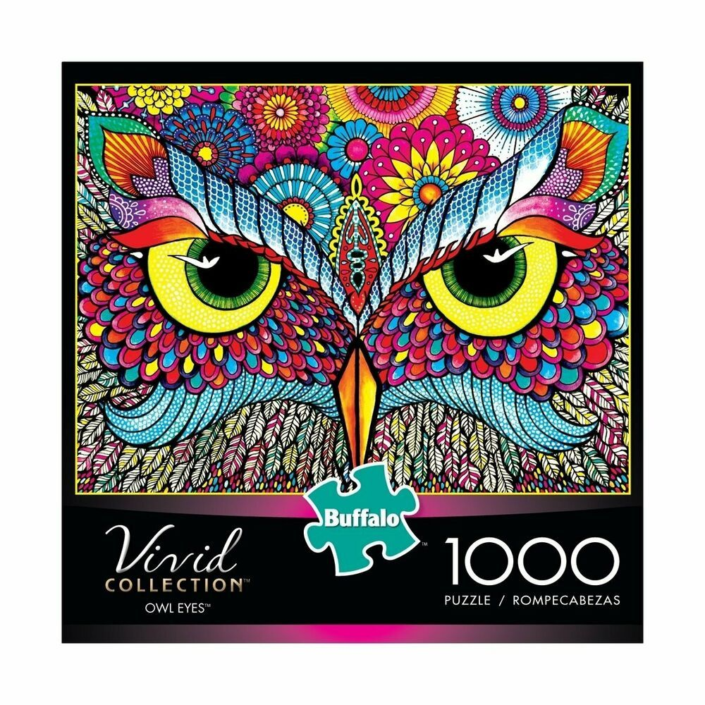 Vivid Collection Owl Eyes1000 Pcs Harrypotter Harry Book
