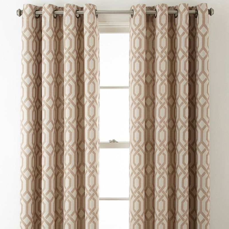 Jcpenney Home Pasadena Blackout Grommet Top Curtain Panel Panel