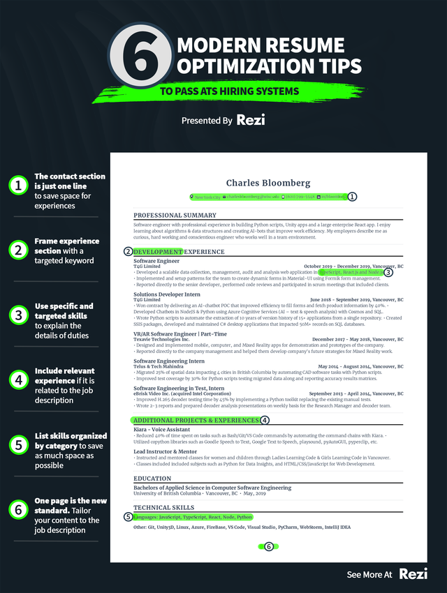 Simple guide for a resume coolguides in 2020 Resume