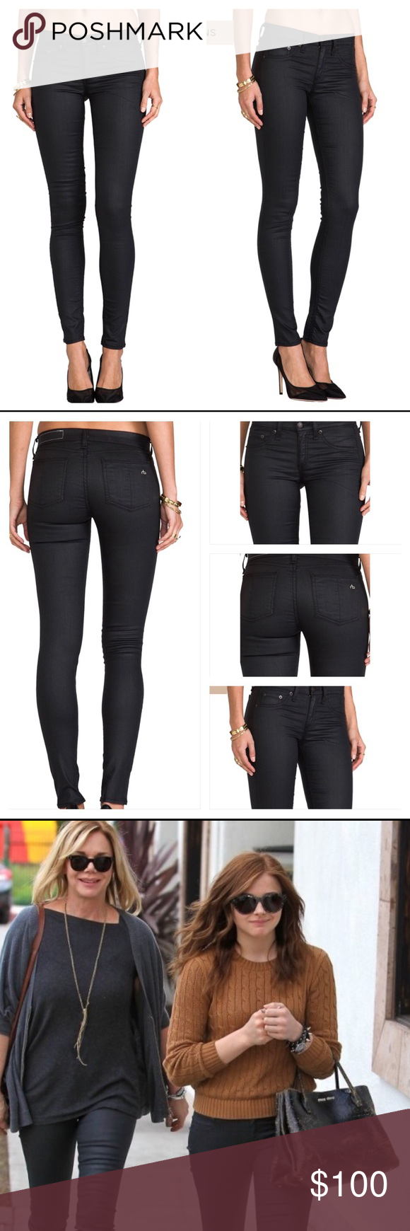 Rag & Bone Shoreditch Leggings Jeans (With Images)