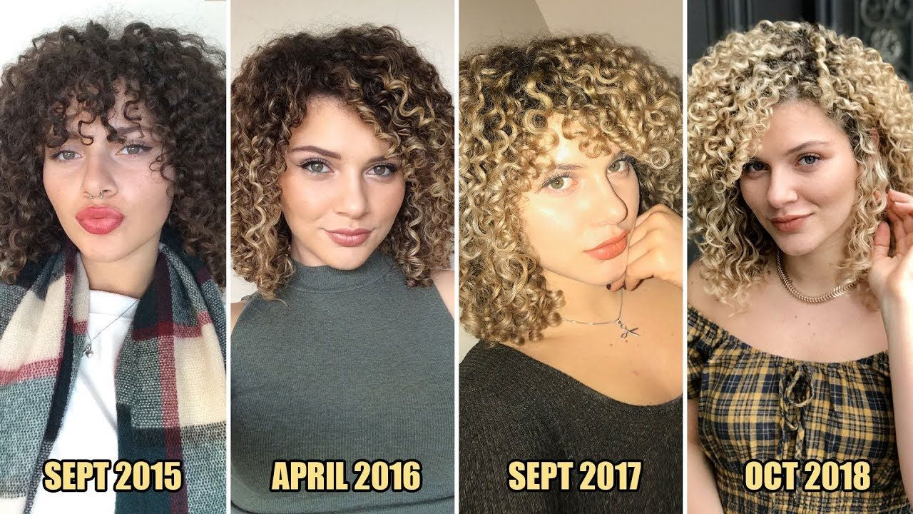 How i maintain my blonde curly hair without damaging it