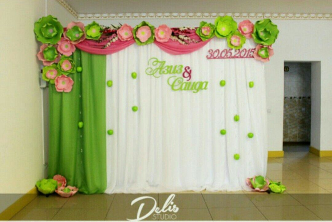 Paper flowers backdrop kids party pinterest flores - Papeles de decoracion ...