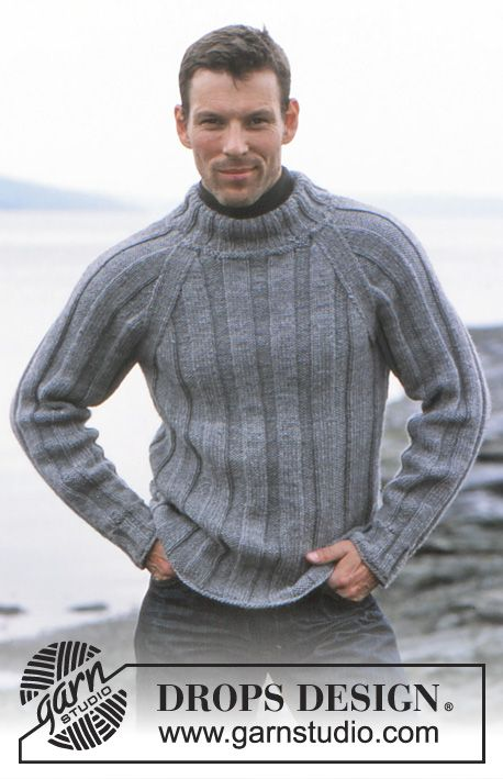 c445aadbd5a6 Of The Sea   DROPS 85-2 - DROPS Pullover in Alaska and Scarf in ...