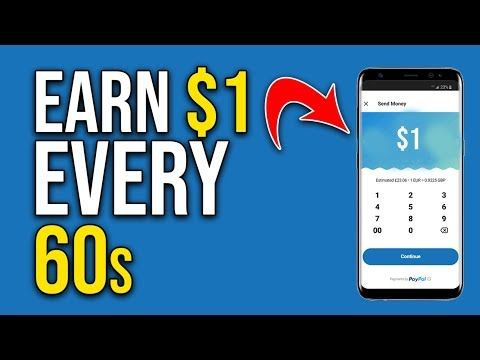 Get Paid 1.00 In 60 SECONDS (NEW PayPal App FREE!) App
