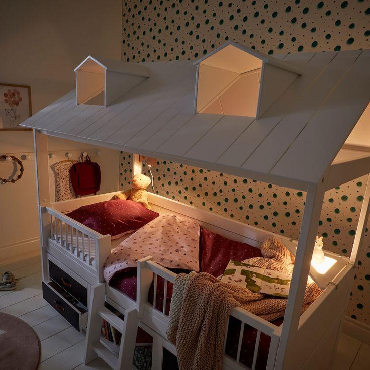 Lifetime Kojenbett Beachehouse Online Kaufen Beachehouse Bettideenkinderzimmer Kaufen Kojenbett Lifetime Online In 2020 Toddler House Bed House Beds Bunk Beds