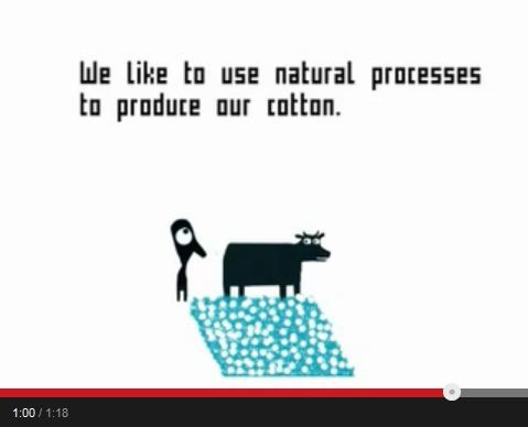 Chris Haughton and Marc Wilson made this animation for PEOPLE TREE showing the effects of fair trade and the use of pesticides on cotton crops.